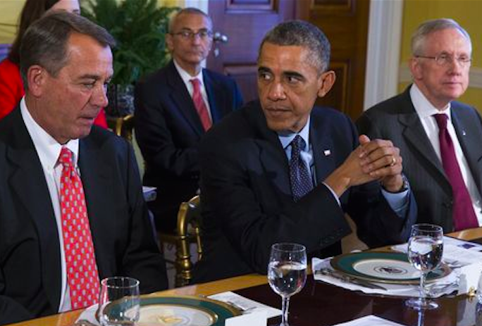 Caption contest: Obama Meets Congressional Leaders