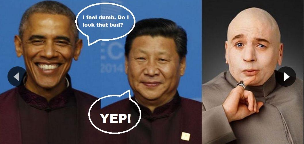 Priceless Pic Of Obama In China