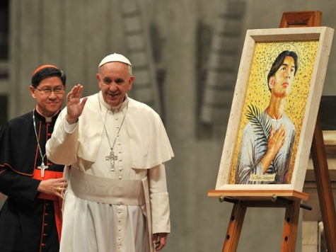 Philippines Promises to 'Double Their Efforts' to Shield Pope Francis from ISIS Attack
