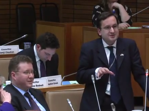 Local Government Isn't All Boring, Video of Budget Debate Shows