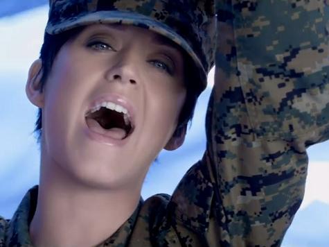 Occupy Cheerleader Naomi Wolf Calls Katy Perry Video 'Propaganda for the Marines'