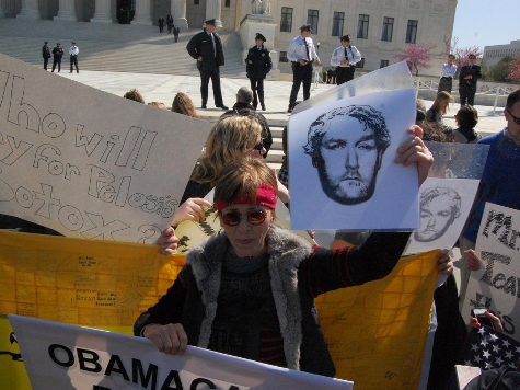 Andrew Breitbart Lives, at Supreme Court ObamaCare Protest