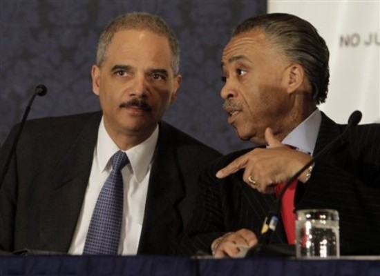 Holder Promises Sharpton 'Thorough' Investigation on Trayvon