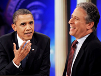 Low-Rated Jon Stewart Carries Obama's Same-Sex, States' Rights Water