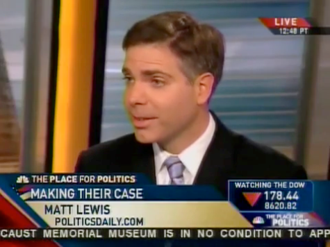 Exclusive: Has MSNBC Blacklisted The Daily Caller's Matt Lewis?