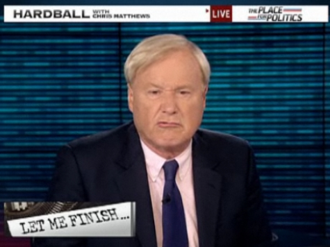 Chris Matthews Is Dumb