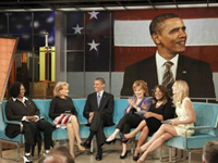 Demeaning the Office: Obama Jokes About 'Sex Book' On 'View'