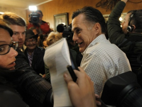 Good News: Romney Knows the Media Out to Destroy Him