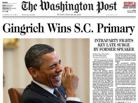 'Washington Post' Faces Circulation and Revenue Collapse