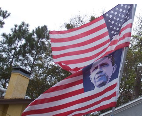 Democrats' Obama Flag Offends Veterans