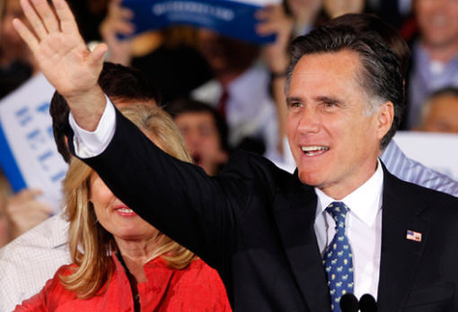 Romney Breezes to Illinois Primary Win