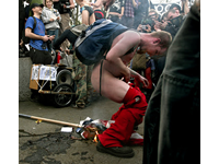 Two Stabbings at Occupy San Francisco