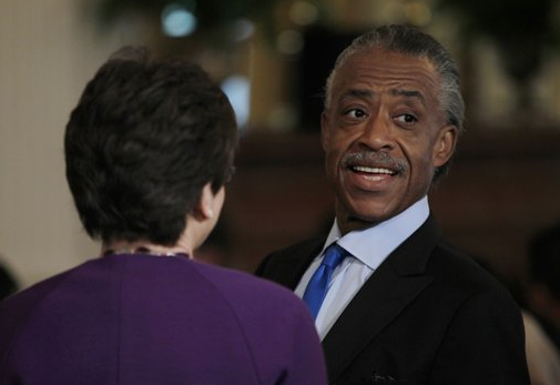 Sharpton In The White House
