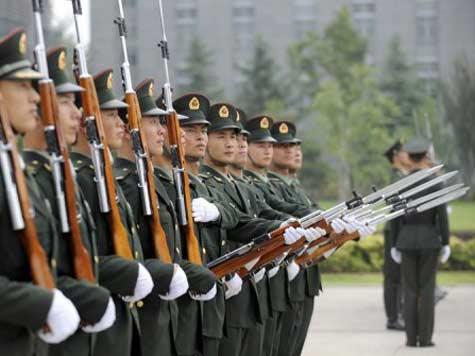 Chinese Military Spending Up, Up, Up