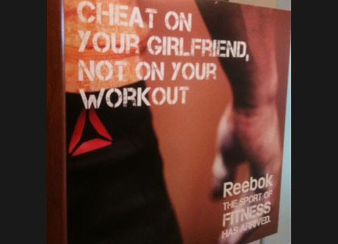 "Reebok Regrets ""Cheat On Your Girlfriend"" Ad Campaign"